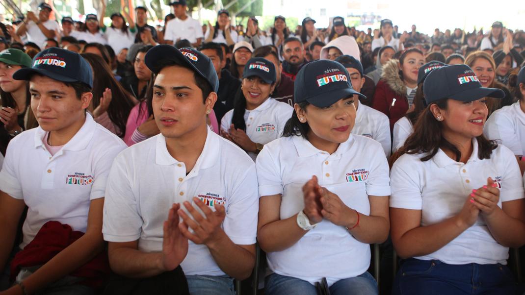 Programa Jovenes Construyendo el Futuro en Campeche